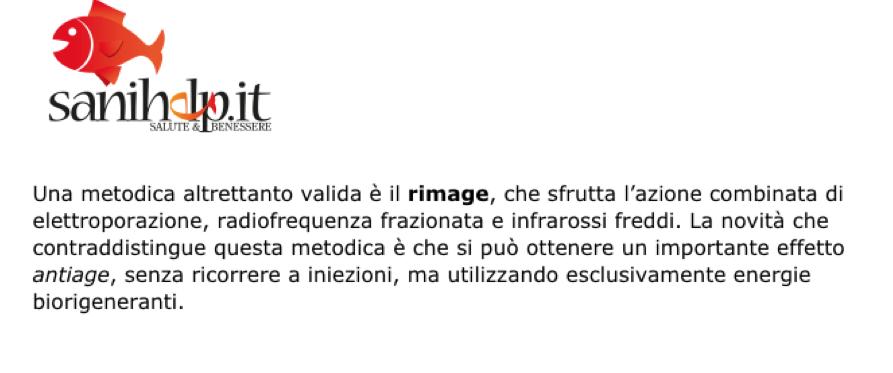 Trattamento antiage viso riamge: intervista professore Antonino Di Pietro